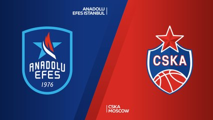 Championship game Highlights: Efes 83-91 CSKA