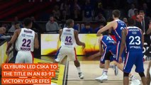 Turkish Airlines EuroLeague Final Four MVP: Will Clyburn, CSKA Moscow