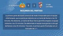 Resumen partido entre FC Vilafranca y CP San Cristobal Jornada 42 Tercera División