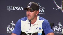 Reaction from Brooks Koepka after winning the 101st PGA Championship