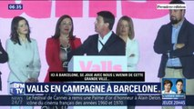 Il est en mauvaise position dans les sondages, mais Manuel Valls accélère sa campagne pour la mairie de Barcelone