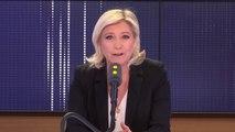 """Steve Bannon """"Il n'a aucun rôle dans la campagne"""" affirme Marine Le Pen. """"Ce n'est pas nous qui invitons Steve Bannon dans la campagne c'est vous les médias qui invitez Steve Bannon dans la campagne européenne"""""""