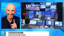 """Marine Le Pen est fan de l'Eurovision : """"Comme un enfant aux yeux de lumière, qui voit voter au loin les fachos !"""" (Canteloup)"""
