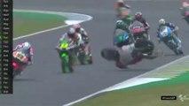 Moto 3 - Ai Ogura Dangerous Crash In French GP