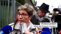 Affaire Vincent Lambert - Réaction de sa mère Viviane Lambert