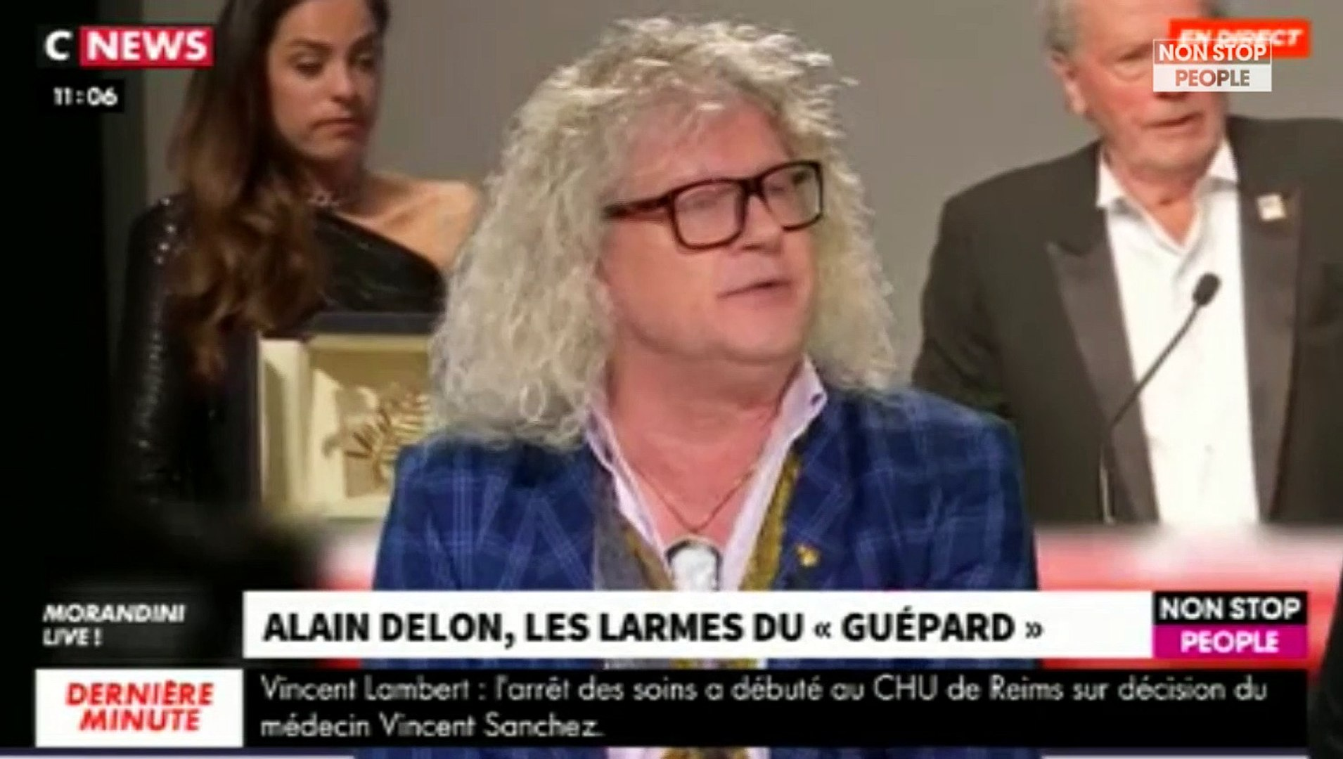 Morandini Live : Alain Delon