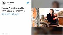 Fanny Agostini quitte l'émission « Thalassa »