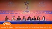 PORTRAIT DE LA JEUNE FILLE EN FEU - Conférence de presse - Cannes 2019 - VF