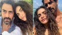 Arjun Rampal enjoys with pregnant girlfriend Gabriella in Maldives   FilmiBeat