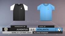 Match Review: Juventus vs Atalanta on 19/05/2019