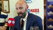 """Monchi: """"Pablo Sarabia quiere quedarse en el Sevilla"""""""