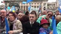 Milano, sovranismo e ultradestra al comizio di Matteo Salvini | Notizie.it