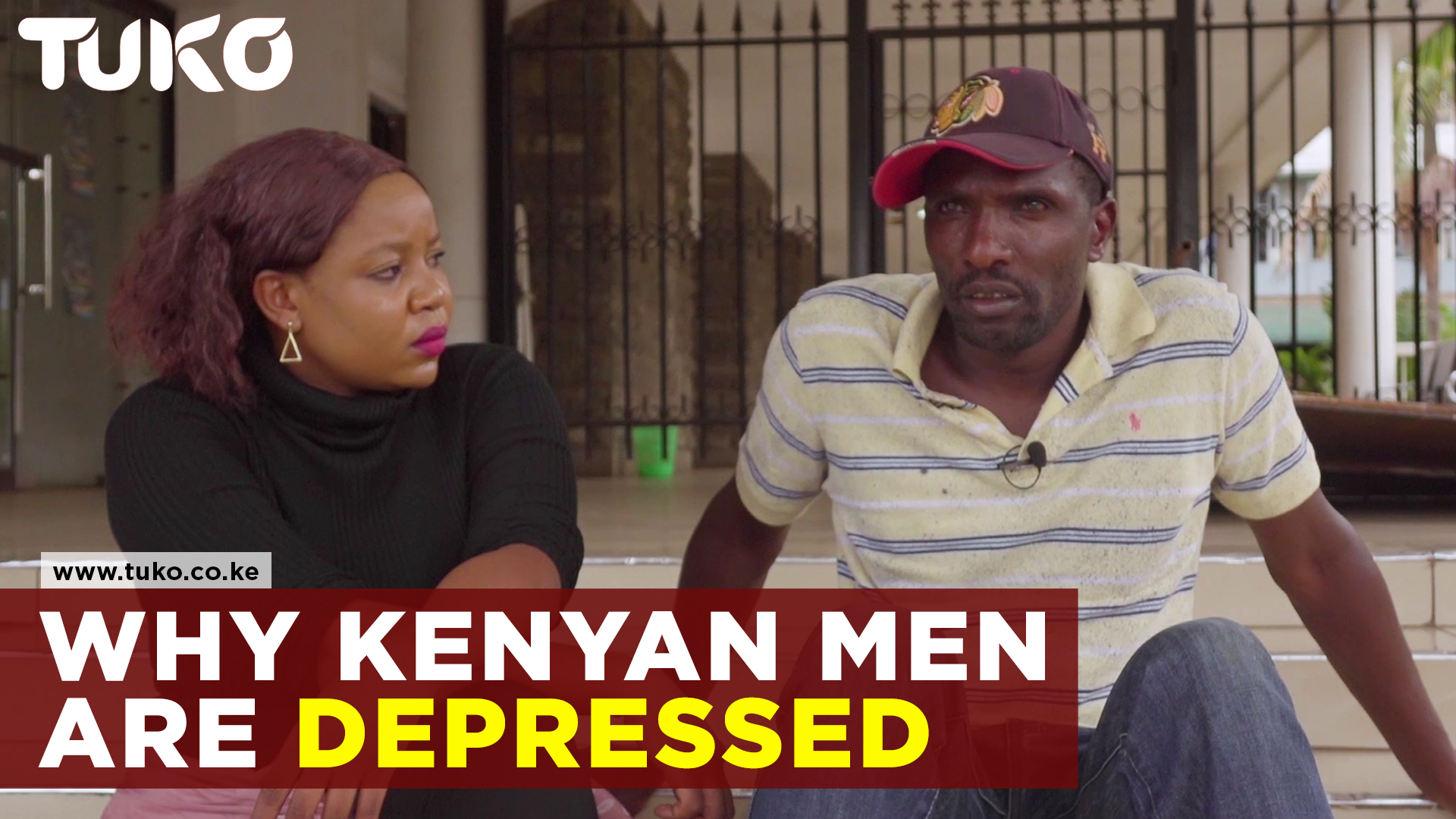 Why Kenyan men are depressed