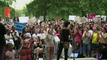 Manifestations en Alabama contre l'interdiction de l'avortement