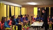 Inside U17 : les coulisses de la victoire face à Lyon