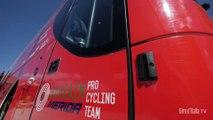 Giro d'Italia 2019   Rest day   Inside the Bahrain Merida bus