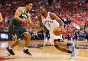 Kawhi Leonard Leads Raptors to First Win of Eastern Finals Over Bucks