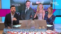 Scarlett Johansson and SNL's Colin Jost Are Engaged After Two Years of Dating