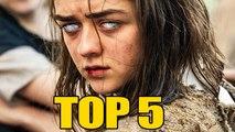 5 Choses que vous ne saviez pas sur ARYA STARK de GAME OF THRONES