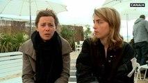 Souvenirs de Tournage de Adèle Haenel et Aude-Léa Rapin pour Les héros ne meurent jamais - Cannes 2019