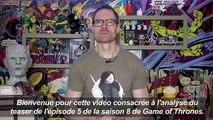 Un youtubeur spécialisé évoque la fin de Game of Thrones