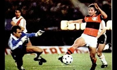 Flamengo x River Plate - Libertadores 1982