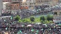 Manifestation à Bouira le 26 avril 2019.  مظاهرة في مدينة البويرة يوم 26 أفريل 2019
