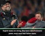 English teams are dominating Europe, despite Brexit! - Mancini