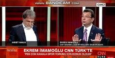 Ekrem İmamoğlu ile Ahmet Hakan arasında 'Tevfik Göksu' tartışması