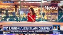 "Bannon/Le Pen: Un ""ami"" embarrassant"