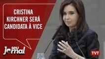 Cristina Kirchner será candidata a vice