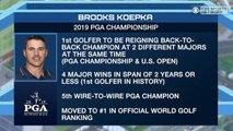 Time to Schein: Brooks Koepka WINS the PGA Championship!