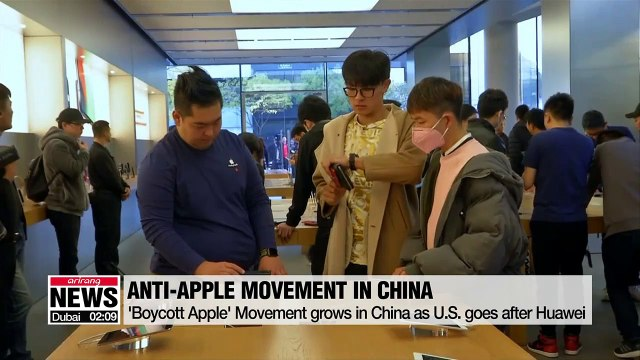 'Boycott Apple' Movement grows in China as U.S. goes after Huawei