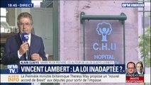 """""""Assimiler la situation de Vincent Lambert à celle des handicapés, c'est un contre-sens"""" selon le co-auteur de la loi Claeys-Leonetti"""