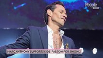 Marc Anthony Opens Up About His and Jennifer Lopez's Daughter Emme's Passion for Singing