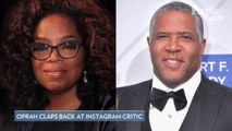 Oprah Winfrey Claps Back at Instagram Commenter Questioning Her Charitable Giving
