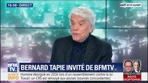 """Bernard Tapie dénonce un """"procureur aux ordres de l'État"""" pendant son procès"""