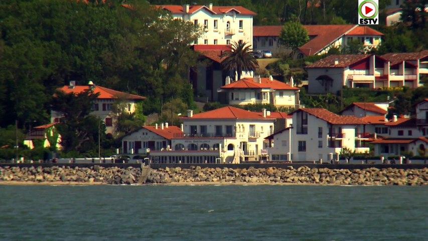 Hendaye: La Corniche et la Plage - Euskadi Surf TV