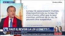 Affaire Vincent Lambert: faut-il revoir la Leonetti sur la fin de vie?