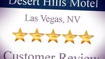 Desert Hills Motel Las Vegas Outstanding 5 Star Review by Laura Creighton