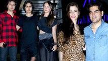 Malaika Arora's son Arhaan Khan attends Arbaaz Khan's GF Giorgia Andriani's Birthday   FilmiBeat