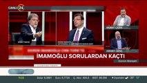 Ahmet Hakan ve Ekrem İmamoğlu tartıştı