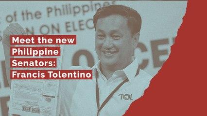 Meet the new Philippine Senators: Francis Tolentino