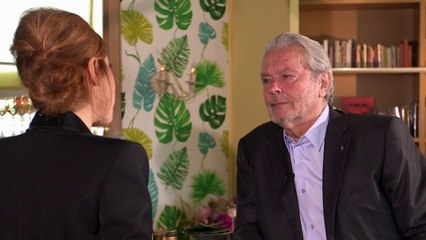 L'interview d'Alain Delon - Stupéfiant !