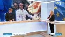 Élections européennes : Emmanuel Macron fait plus que jamais campagne