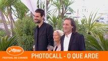 O QUE ARDE - Photocall - Cannes 2019 - EV