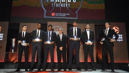 Turkish Airlines EuroLeague Awards Ceremony recap