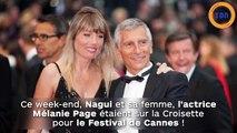Nagui et Mélanie Page plus amoureux que jamais au Festival de Cannes !