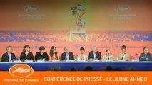 LE JEUNE AHMED - Conférence de presse - Cannes 2019 - VF