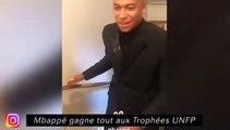 Mbappé gagne tout aux trophées UNFP - Un lundi matin à Paris chez Daniel Alves